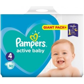PAMPERS Plenky Active Baby...